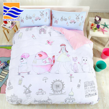 Wholesale Comforter Sets Bedding 100% Cotton Fabric Bed Sheet, Kids Bedspread