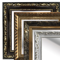 Wooden Classical Frame Baroque Art Nouveau Oil Canvas Painting Frame Lens Frames For Home Decor