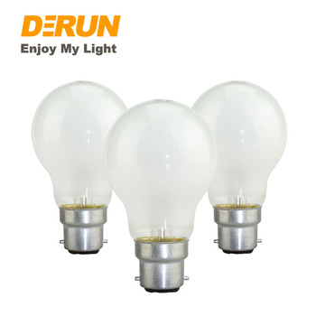 A55 A Shape 60w 100W Frosted Pearl E27 B22 Incandescent Bulb Light Edison Lamp130V 220