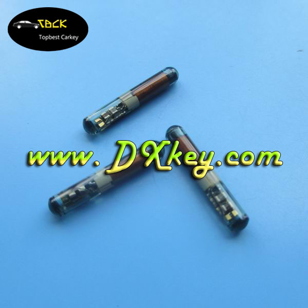 Top quality car key id 4c transponder chip 4C Texas glass chip for TP02