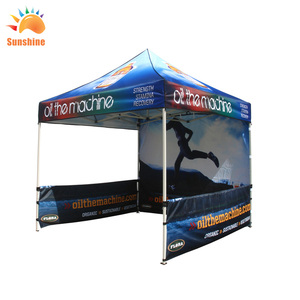 Canopy Custom Printed Canopy Ez Pop up Commercial Grade Canopy Imprinted Fair Vendor Tent With Your Logo Bonus Roller Bag (10x10