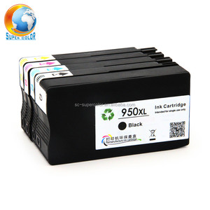 Supercolor New Arrive For HP 950 951 Remanufactured Compatible Ink  Cartridge With Ink