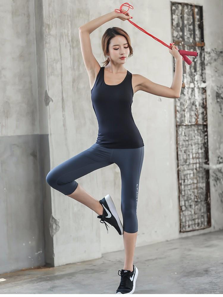 Sportswear Woman Gym Leggings For Fitness Sports Women's Leggins Clothing Yoga Pants Capris Mesh Training Women Trousers Yoga 11