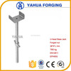 Use for scaffolding 710mm/600mm hollow/solid seamless/welded U-head screw jack Zinc/HDG/ Casting/Forging nuts