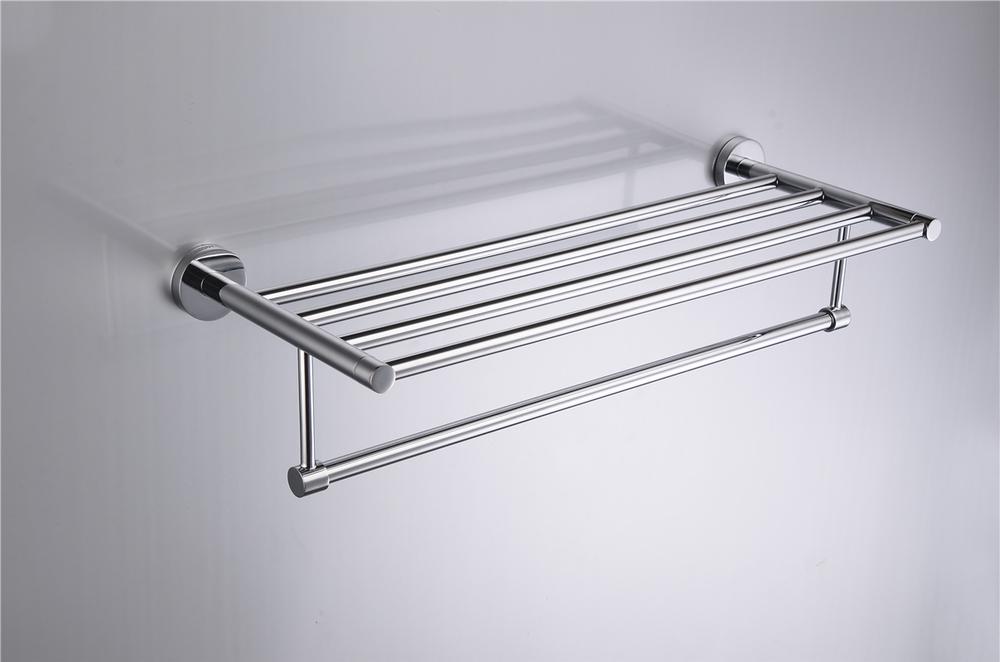 Handdoekrek Voor Badkamer : Muur opknoping messing badkamer vrijstaande metalen handdoekrek