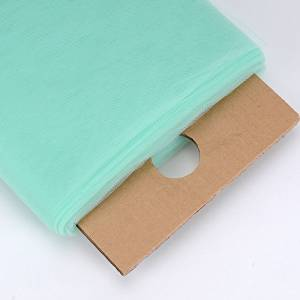BBCrafts Mint Polyester Tulle Fabric Bolt 54 inch 40 Yards