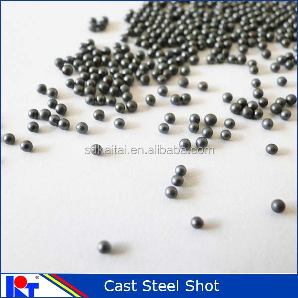 S390 shot blasting Cast steel Shot for Rust Removal