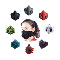 custom neoprene motorcycle bike cycling sports dust anti smog air pollution mask n99