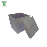 Professional customized handmade high quality square flower box