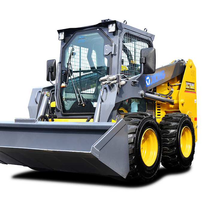 2018 skid steer prezzi XT760 compatto skid steer loader