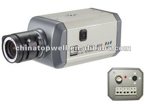 Indoor 540 TVL 0.0003 Lux Japan Sony CCD CCTV Security Box Camera