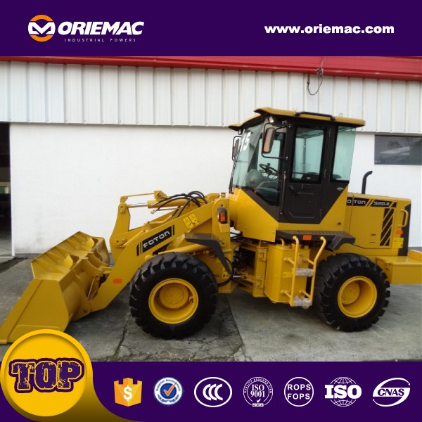 LIUGONG CLG836 small loader for earthmoving