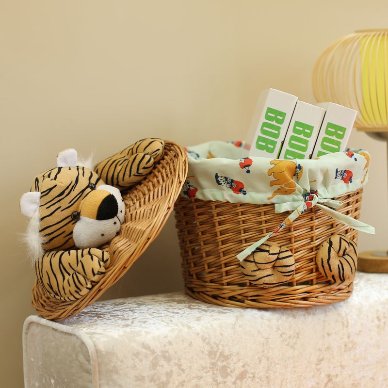 Mini Wholesale Cheap Empty Wicker Gift Basket For Sale