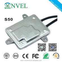 NVEL made f5 fast bright hid ballast 55w S50 933 hid xenon ballast with low price
