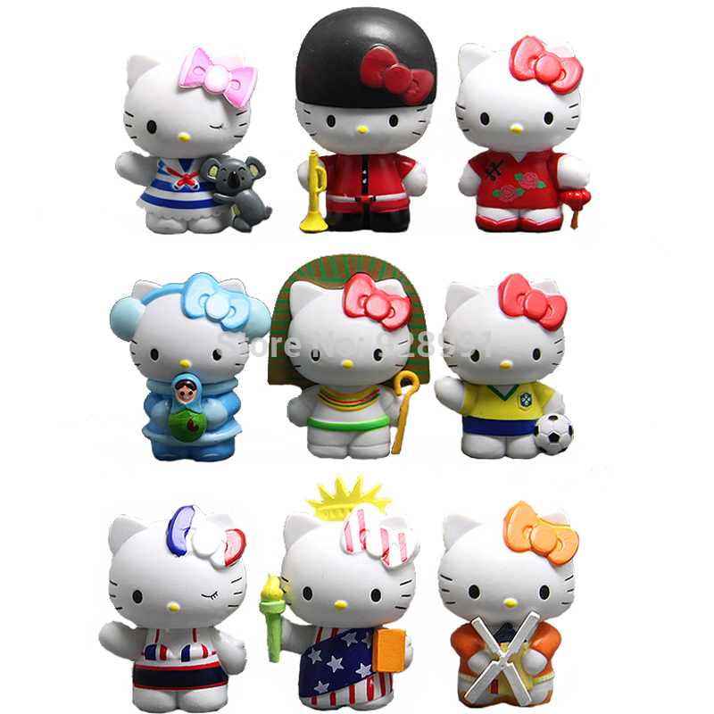 Hello Kitty Sanrio Japanese Miniature Collectible Doll ...