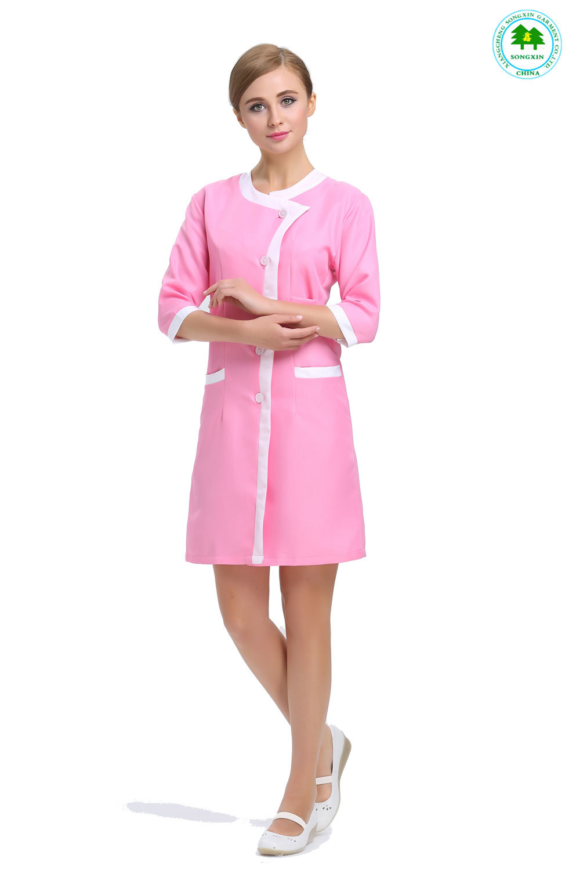 Popular salon uniforms buy cheap salon uniforms lots from for Spa uniform china