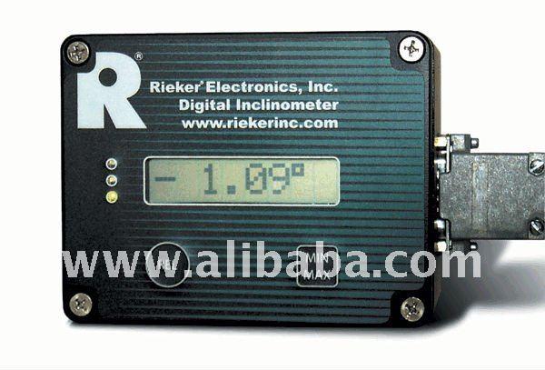 Rieker Inc Rdi Digital Lcd Display Inclinometer System