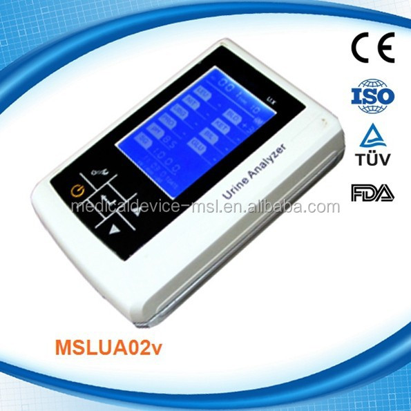 MSLUA02VH Home-used mini urine analyzer urine test equiment, urine analysis machine