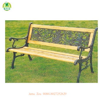 Tremendous Charming Designed Cheap Iron Garden Bench For Wooden Outdoor Chair With Back Qx 146F Buy Lowes Garden Benches Wrought Iron Garden Benches Garden Interior Design Ideas Tzicisoteloinfo
