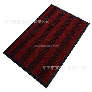customized weight outdoor artificial grass ground mat with PVC backing