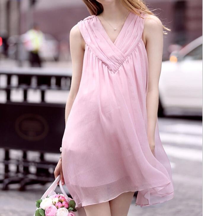 Venta al por mayor vestido materno sin manga-Compre online los ...