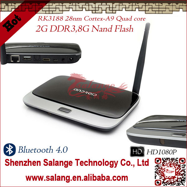 Cheapest on Alibaba RK3188 Rockchip IP how to setup set top box to tv with Free Chinese Channel by salange