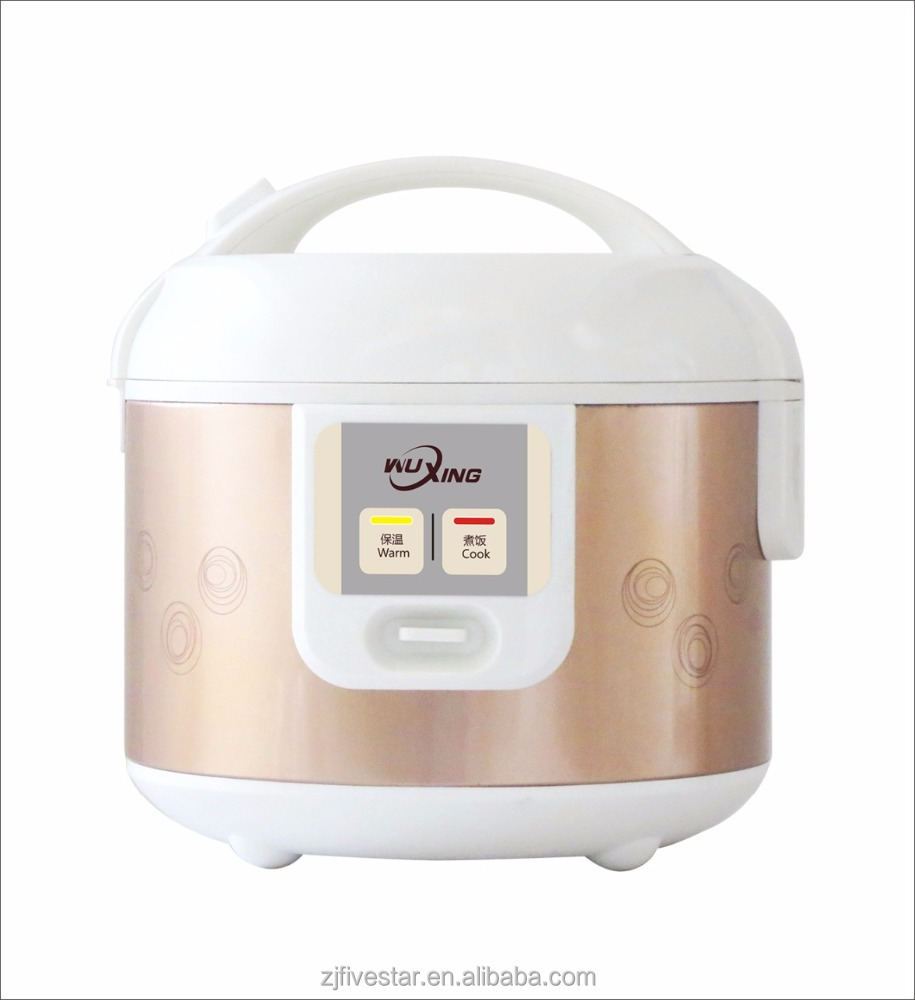 Automatic switch on and off rice cooker