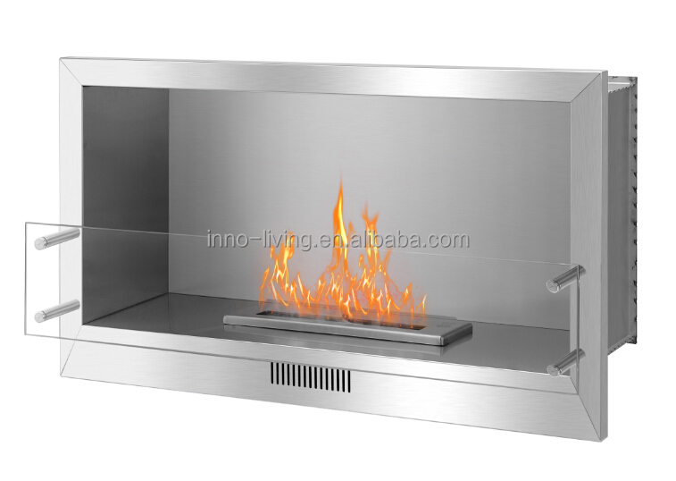 2 sided electric fireplace ethanol fireplace see through