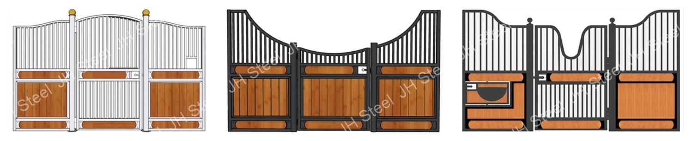 Конный лошадей товары Barn оборудование подержанные сварные конные стойла панели