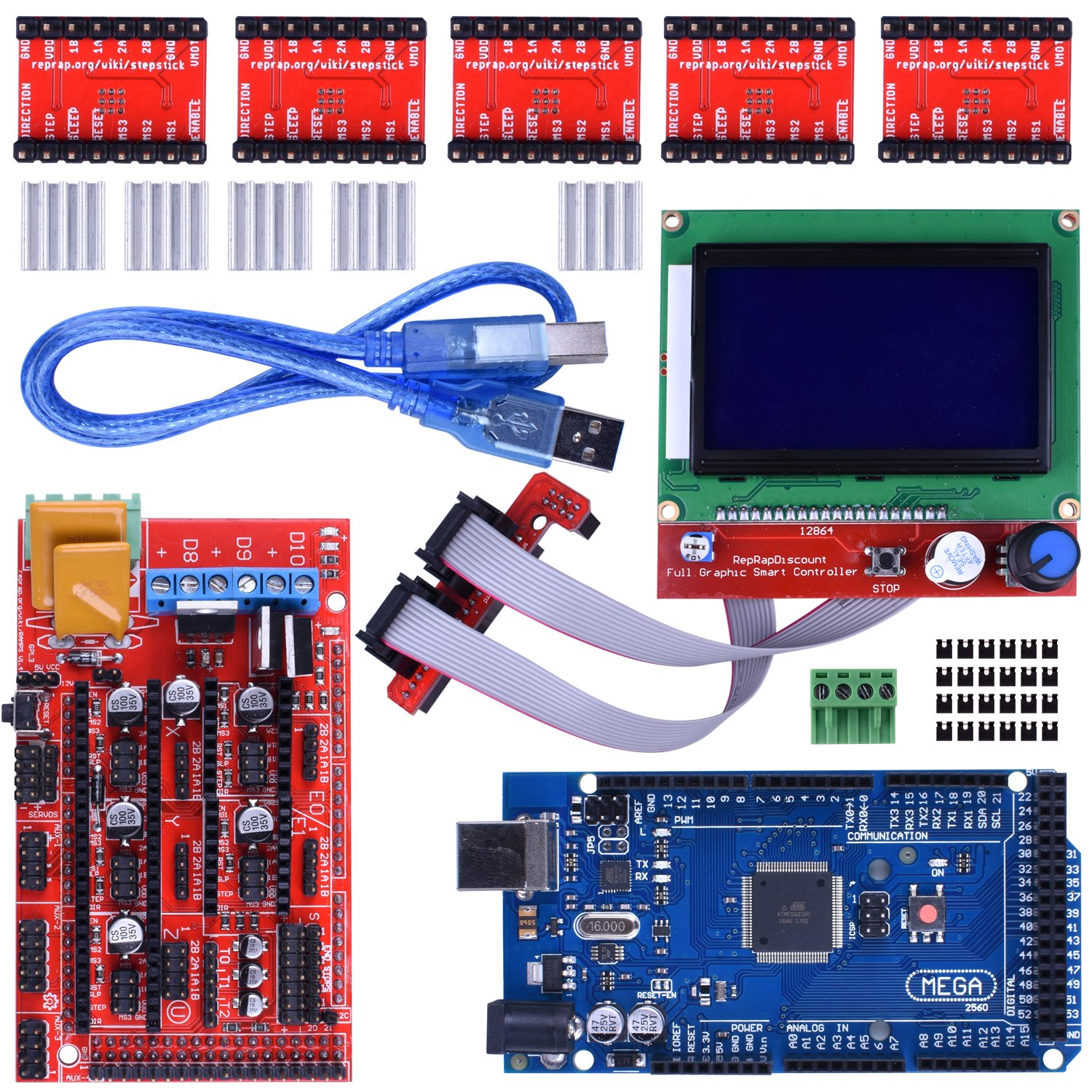 Cheap Mosfet Motor Driver Schematic Find Arduino 110v Power Controller Circuit Get Quotations 3d Printer Kit For Mega 2560 Uno R3 Starter Kits Ramps 14 With