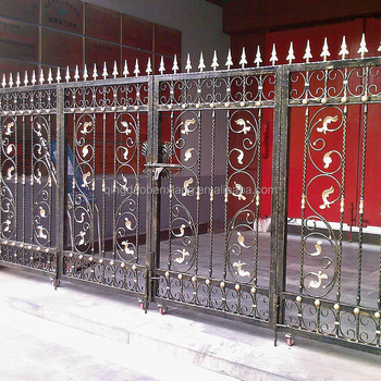 BX metal modern gates design and fences
