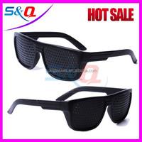 Black Pinhole Sunglasses Fashion Pin Hole Glasses
