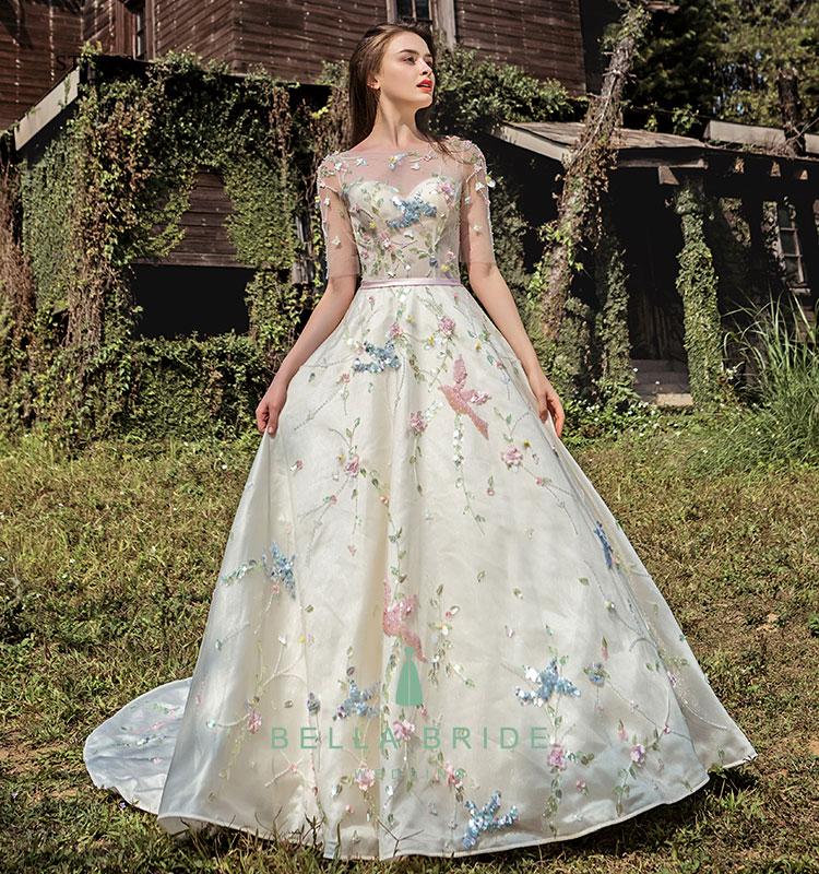 Real Pictures Of Beautiful Wedding Gowns Vestidos De Novia 2017 ...
