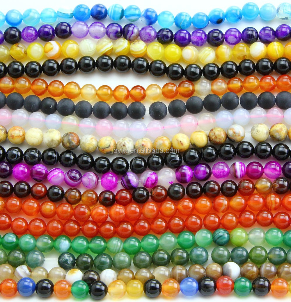 Wholesale 4mm 6mm 8mm 10mm 12mm natural Amethyst gemstone loose beads for jewelry making