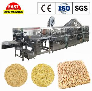 Gebakken Noedels Machine Instant Noodle Making Machine Productielijn