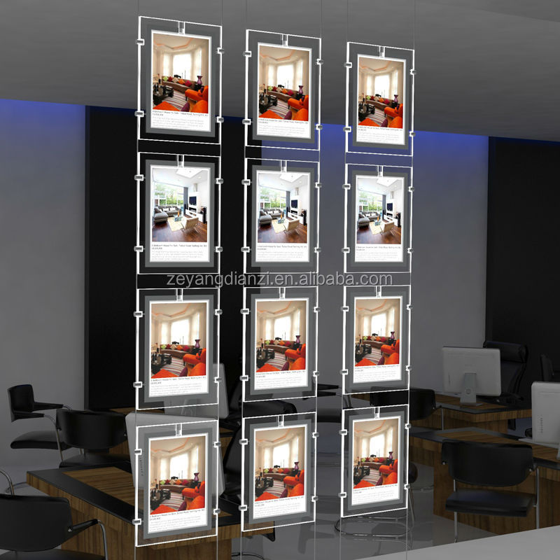 Rahmenlose Lightbox Shop Led Beleuchtete Werbung Schaufenster - Buy ...