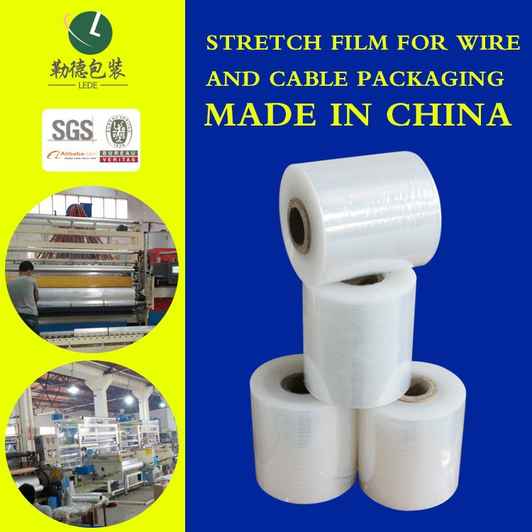 Soft Hardness Stretch Film at a fair price transparency plastic film