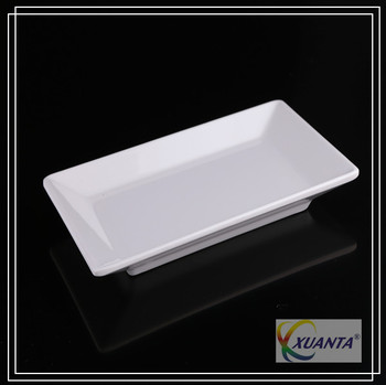 Rectangular melamine restaurant dinner plates sale : white rectangular dinner plates - pezcame.com