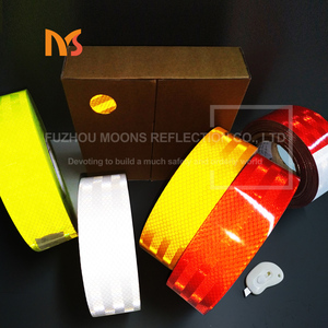 China car reflective plastic stickers acrylic pvc pet stickers adhesive tape foil vinyl film sheet materials strip rolls 50mm