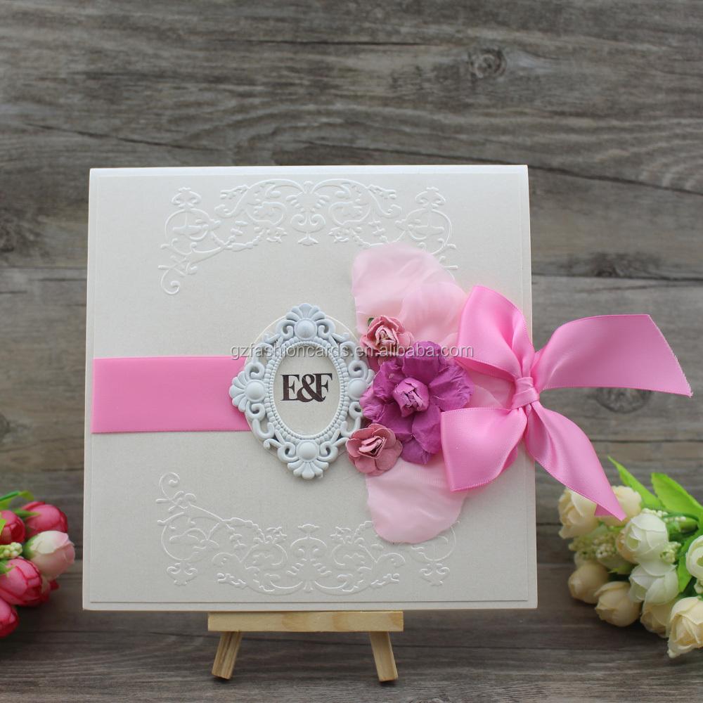 Personalized Card Luxury Embellished Oman Wedding Invitation Card ...