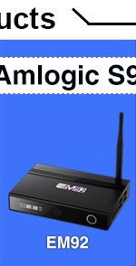 Best Selling Amlogic S905X EM95X Quad Core 2GB 16GB Android 6.0 Set Top Box Kodi 17.1 Internect TV Box