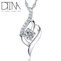 DTINA Fast delivery fashion pendant import silver jewelry 925 Sterling Silver wholesale