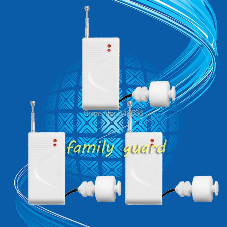 3шт / Lot беспроводная 433 мГц вода утечки датчик сигнализация детектор / вода утечки датчик с