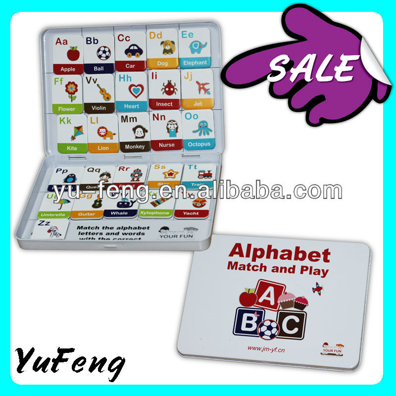 2013 Factory direct sales Personality exquisite Educational Game Set Of Magnet big Plasticity Magnet educational game for sale