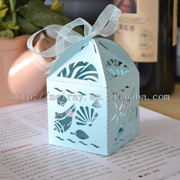 Paper Bags With Seashells,Sea Shells Starfish Box,Under The Sea ...