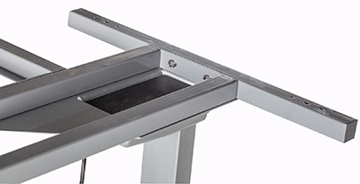 Drafting Table With Button Adjustable Height Control Panel