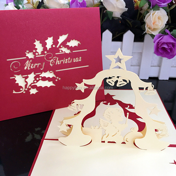Angels prayers 3d pop up christmas greeting card laser cutting card angels prayers 3d pop up christmas greeting card laser cutting card m4hsunfo
