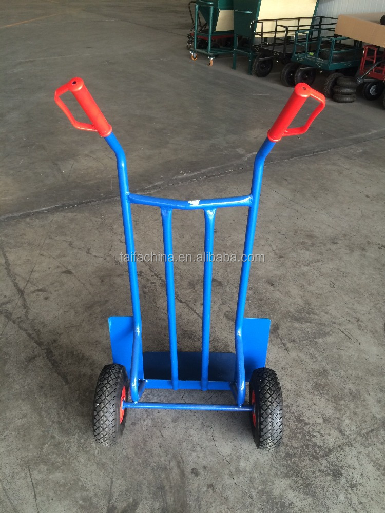 hand pull trolley with Shovel plate