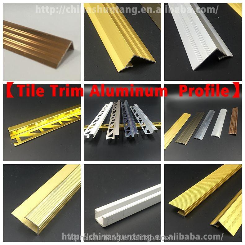 Aluminio cuadrado redondo tubos barra de la cortina de - Perfil cuadrado aluminio ...