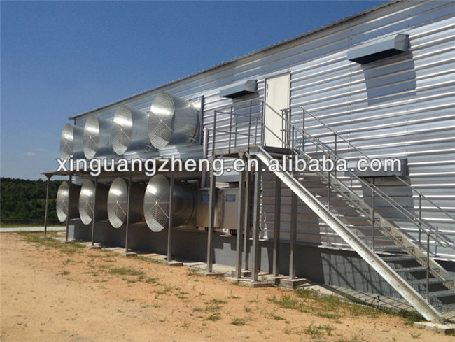 steel structure automatic prefab egg chicken house